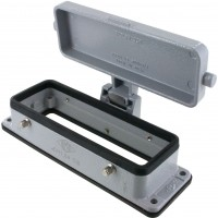 EPMP24DC Panel Mounting Base Four Pegs and Cover Open