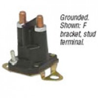 SPST, CONTINUOUS DUTY, 100A, 12V, GROUNDED, 10-32 STUD, F BRACKET