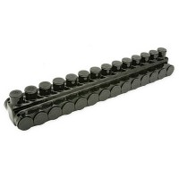 IPBBNA25014D BLACK INSULATED POWER BAR 250 MCM