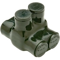 Insulated Multi Tap Connector 2 Conductor 350MCM Penn-Union IPBBNA3502D