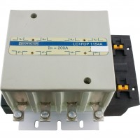 4 Pole 115 Amp IEC Contactor Top