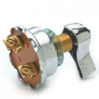 SINGLE POLE, OFF-ON, 6-36VDC, 50A@14VDC, SILVER CONTACTS