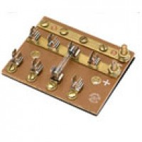 COMBO, FUSE BLOCK & TERMINAL BLOCK, FOR SFE 20A OR 3AG FUSE, COMMON HOT FEED TO 4 IND.-FUSED CIRCUITS