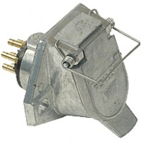Bullet Termination Style Solid Brass 7-Pole Terminal 11-786