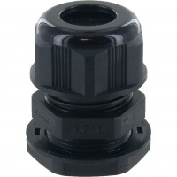 Nylon Dome Cap Cable Gland PG16 Black