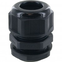 "Nylon Dome Cap Cable Gland 3/4"" NPT Black"