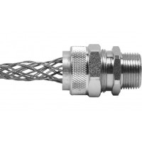 "Aluminum Cord Grip 1/2"" .375-.438"" With Mesh RSR-107-E"