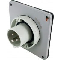 320B5W Pin And Sleeve Inlet 20 Amp 2 Pole 3 Wire