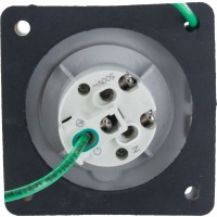 320R4W Pin And Sleeve Receptacle 20 Amp 2 Pole 3 Wire Rear