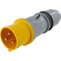 330P4S Pin And Sleeve Plug 30 Amp 2 Pole 3 Wire