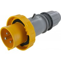 330P4W Pin And Sleeve Plug 30 Amp 2 Pole 3 Wire
