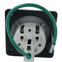 330R6S Pin And Sleeve Receptacle 30 Amp 2 Pole 3 Wire Rear