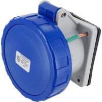 330R6W Pin And Sleeve Receptacle 30 Amp 2 Pole 3 Wire