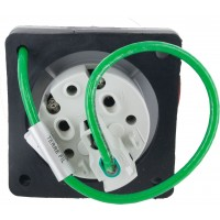 330R7W Pin And Sleeve Receptacle 30 Amp 2 Pole 3 Wire Rear