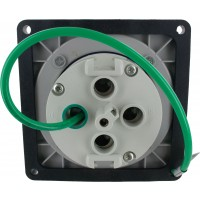 4100B9W Pin And Sleeve Inlet 100 Amp 3 Pole 4 Wire Rear