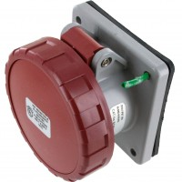416R6W Pin And Sleeve Receptacle 16 Amp 3 Pole 4 Wire