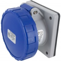 420R9W Pin And Sleeve Receptacle 20 Amp 3 Pole 4 Wire