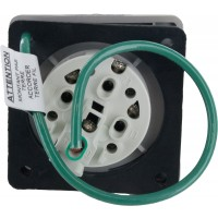 430R5S Pin And Sleeve Receptacle 30 Amp 3 Pole 4 Wire Rear