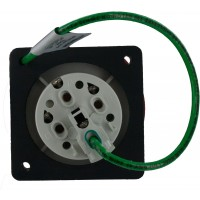 430R7W Pin And Sleeve Receptacle 30 Amp 3 Pole 4 Wire Rear