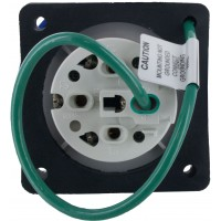 430R9W Pin And Sleeve Receptacle 30 Amp 3 Pole 4 Wire Rear
