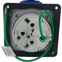 460R9W Pin And Sleeve Receptacle 60 Amp 3 Pole 4 Wire Rear