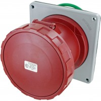 4125R6W Pin And Sleeve Receptacle 125 Amp 3 Pole 4 Wire