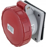520R7W Pin And Sleeve Receptacle 20 Amp 4 Pole 5 Wire
