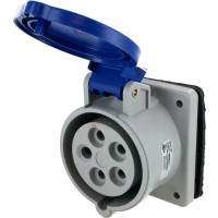 520R9S Pin And Sleeve Receptacle 20 Amp 4 Pole 5 Wire Open