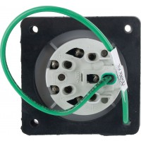 520R9S Pin And Sleeve Receptacle 20 Amp 4 Pole 5 Wire Rear