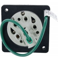 530R7S Pin And Sleeve Receptacle 30 Amp 4 Pole 5 Wire Rear