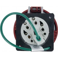 530R7W Pin And Sleeve Receptacle 30 Amp 4 Pole 5 Wire Rear
