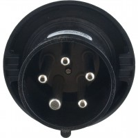 560P5W Pin And Sleeve Plug 60 Amp 4 Pole 5 Wire Front