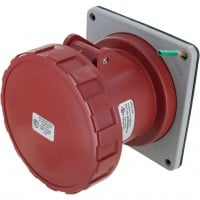 560R7W Pin And Sleeve Receptacle 60 Amp 4 Pole 5 Wire