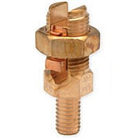 Service Post Connector Male One Cable #10 - #4 AWG