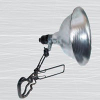 "8 1/2"" GRIP-TITE CLAMP LIGHT, W/ALUMINUM REFLECTOR, 18/2 SPT, 6FT, COUNTER TOP DISPLAY"
