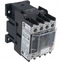 3 Pole Contactor 12 Amp 1 N/O 110 Vac Coil