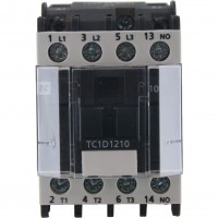 3 Pole Contactor 12 Amp 1 N/O 240 Vac Coil