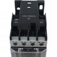 3 Pole Contactor 12 Amp 1 N/O 480 Vac Coil