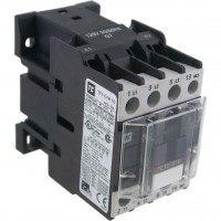 3 Pole Contactor 18 Amp 1 N/O 208 Vac Coil 60 Hz