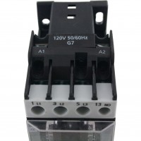 3 Pole Contactor 18 Amp 1 N/O 120 Vac Coil
