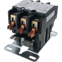 3 Pole Contactor 25 Amp 24VAC Coil