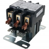 3 Pole Contactor 30 Amp 24VAC Coil