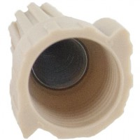 Bulk Wing-Nutz Screw-On Wire Termination Connectors 22-8 AWG Tan