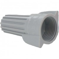 Bulk Wing-Nutz Screw-On Wire Termination Connectors 18-8 AWG Gray