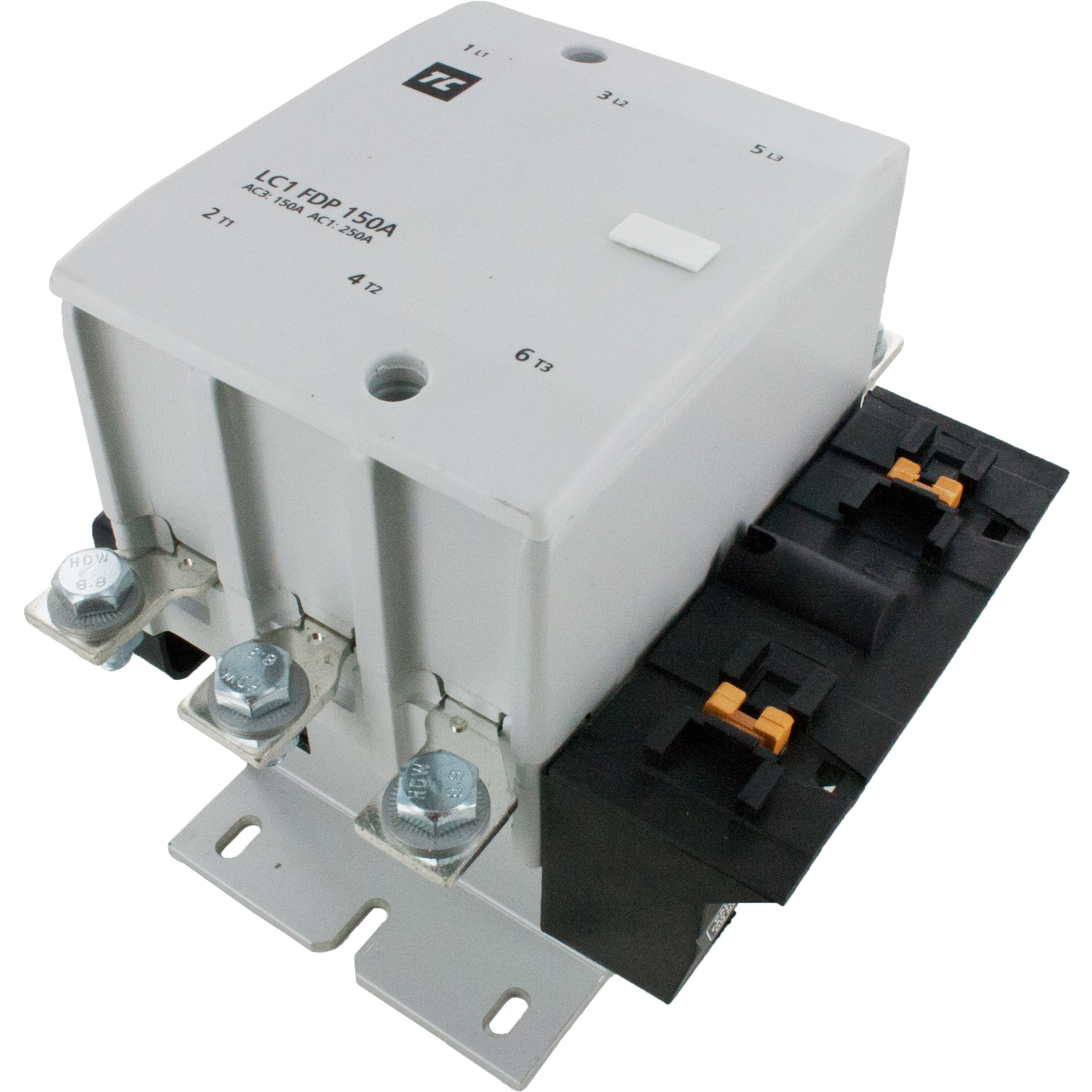 3 Pole 150 Amp Iec Contactor Elecdirect Non Grounding Phase Wiring