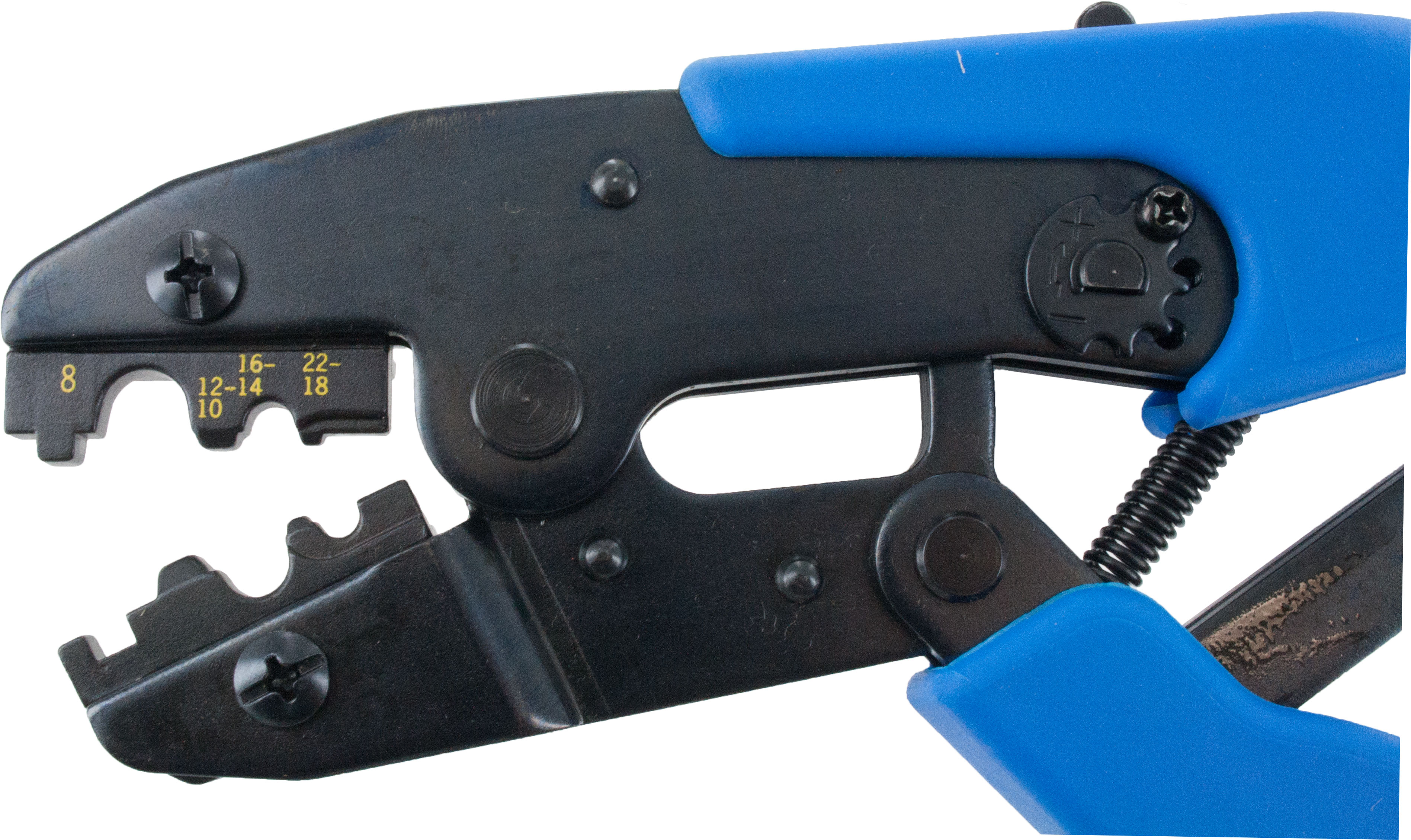 Ratchet Tool Non-Insulated Terminals 22-8 Awg | ElecDirect