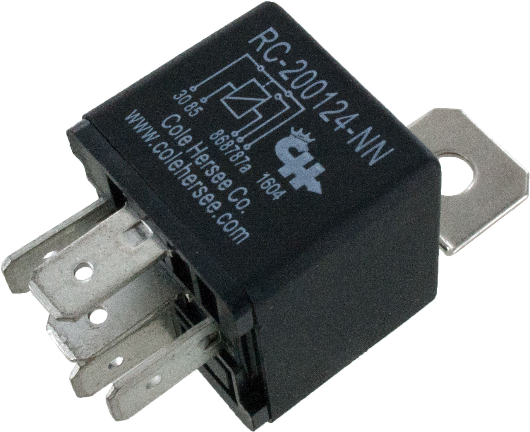 Cole Hersee Relay RC-200124-NN | ElecDirect on bosch relays, hella relays, standard ignition relays, ford relays,