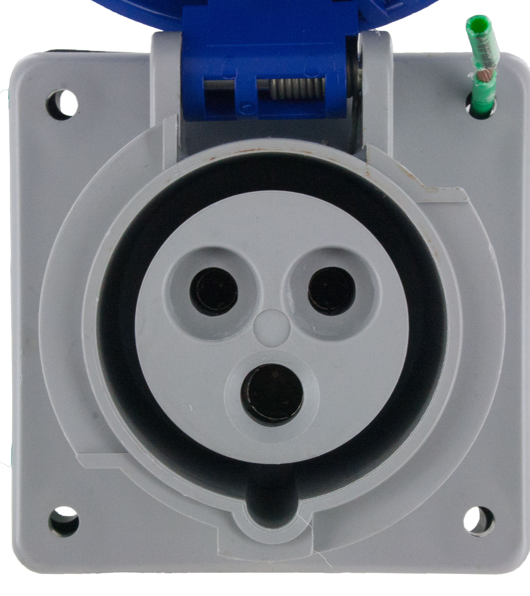 320R6W Pin And Sleeve Receptacle 20 Amp 2 Pole 3 Wire | ElecDirect