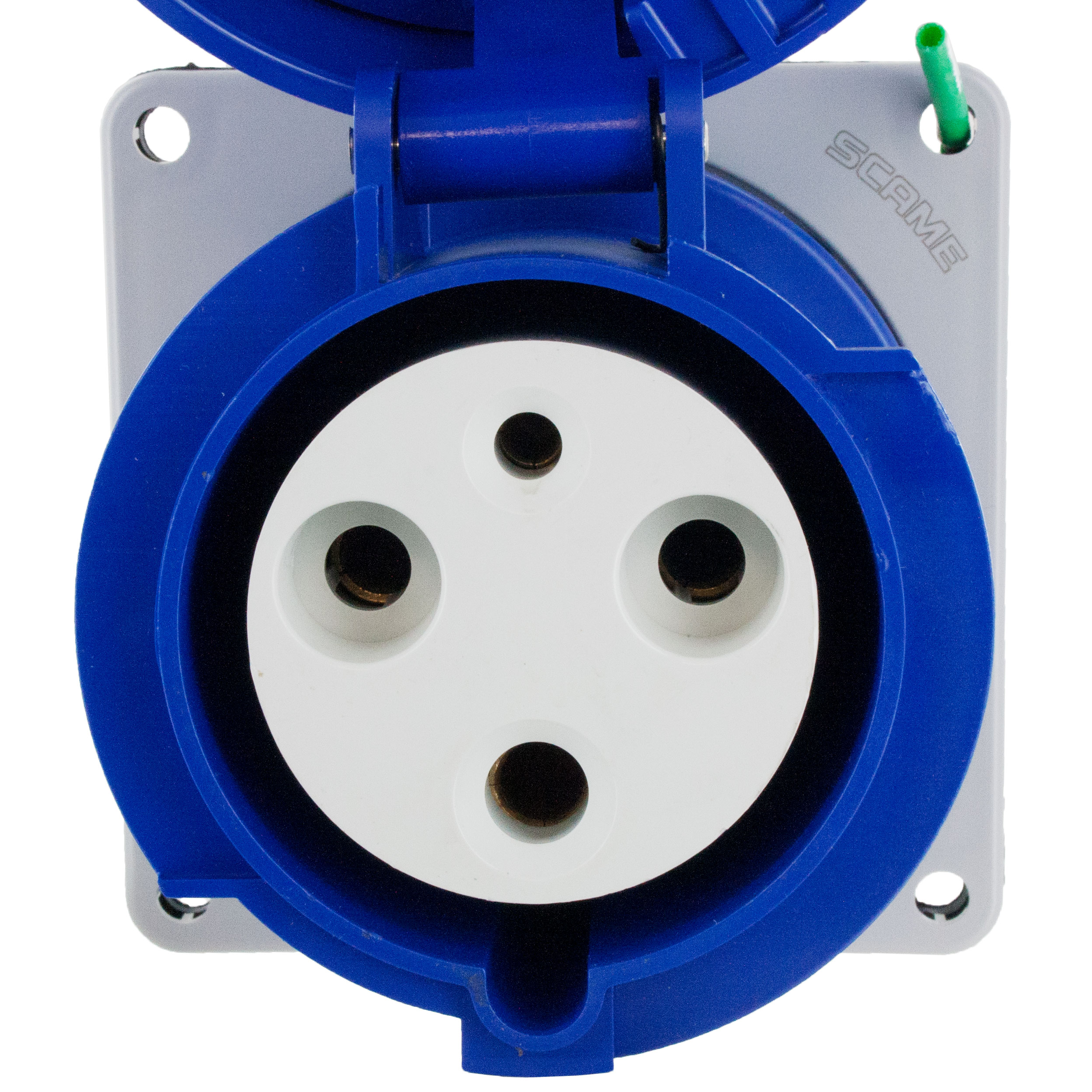 360r6w Pin And Sleeve Receptacle 60 Amp 2 Pole 3 Wire Elecdirect Wiring Gang Recepitacle Youtube