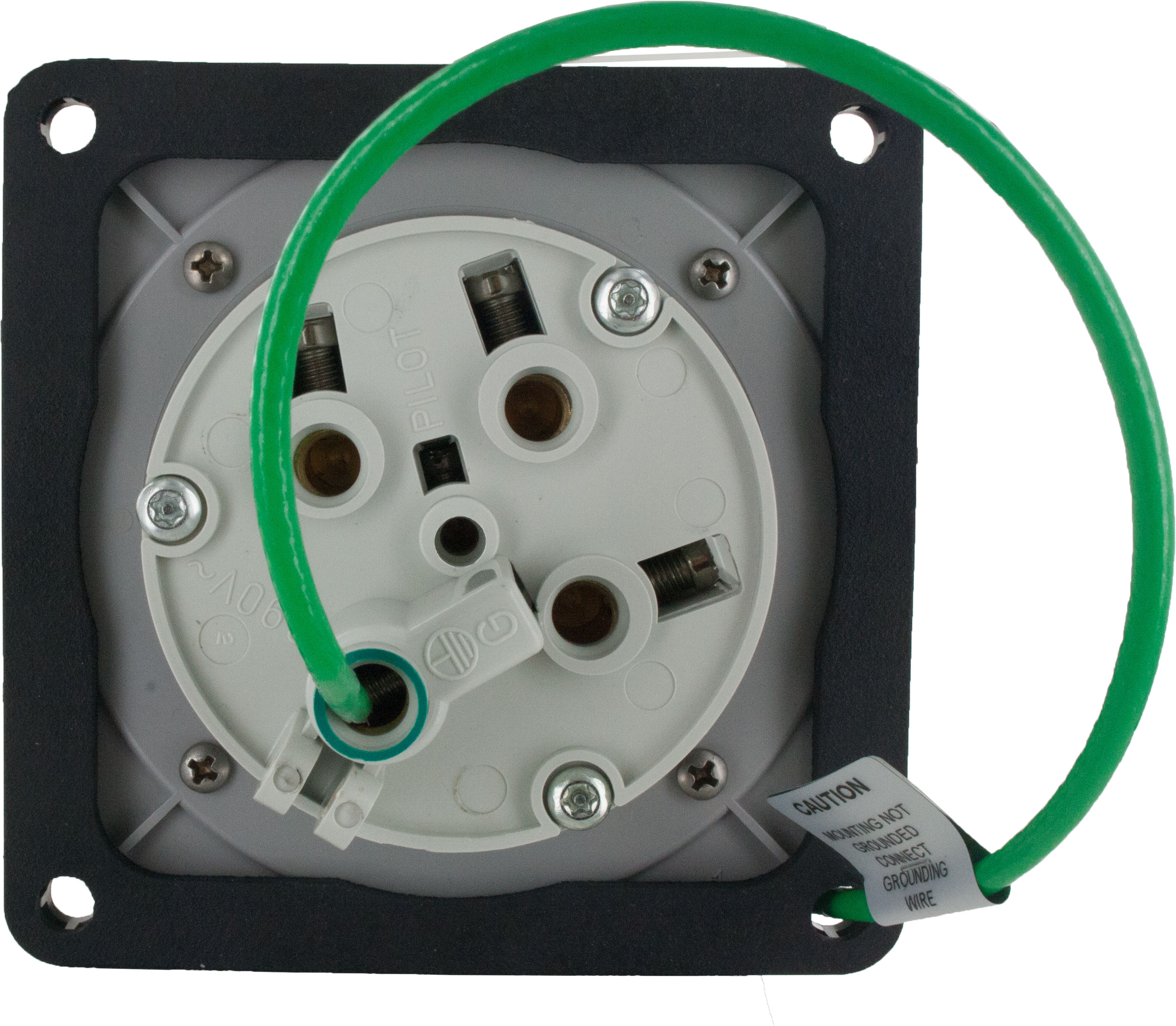 460R5W Pin And Sleeve Receptacle 60 Amp 3 Pole 4 Wire | ElecDirect
